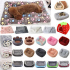Pet Dog Cat Puppy Casual Warm Mattress Calming Bed Mat Crate Kennel Blanket Soft