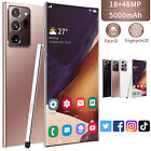 """6.9"""" Dual Sim Android Smart Phone With Pen Note Face Unlocked Mobile Cell Phone"""