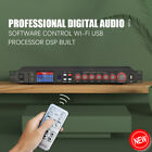 Professional Digital Audio Processor DSP Built With Software Control Wi-Fi USB