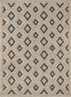 "Momeni Andes Wool and Viscose Area Rug, 8'9"" X 11'9"", Beige (8'9"" X 11'9"")"
