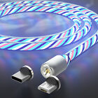Magnetic Type C / Micro USB Fast Charging Phone Charger Cable Cord For Samsung