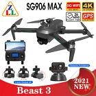 SG906 MAX PRO 2 Beast 3 FPV Obstacle Avoidance GPS Drone 5G WiFi RC Quadcopter