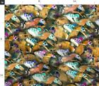 Horses Derby Horse Racing Off To The Races Black Spoonflower Fabric by the Yard