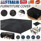 Furniture Cover Garden Patio Rain Uv Table Chair Protector Waterproof Outdoor Au