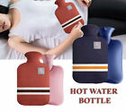 HOT WATER RUBBER BOTTLE WARM Relaxing Heat, Cold Therapy With Knitted cover