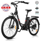 viVI 26'' Bicycle Removeable LI-Battery City Electric Bike 350W Commuting Ebike