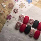 Nail Sticker Color Vintage Boho Style Decals Manicure Slider Nail Decorations
