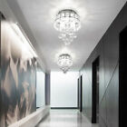Modern Luxury Chandelier Crystal Light Shades Droplet Ceiling Pendant Lampshade