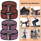 Fabric Resistance Bands Heavy Duty Hip Circle Glute Leg Booty Band Set Home/Gym