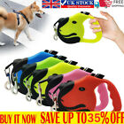Durable Retractable Dog Leads Nylon Lead Extending Puppy Walking Running Leashs#