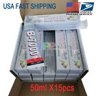 New B-7000 50ml 15pcs Lot Box Glue Industrial Adhesive For Phone Frame Jewelry