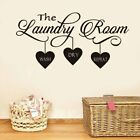 Fun Laundry Removable Pvc Wall Stickers For Kids Room Living Room Home Decor
