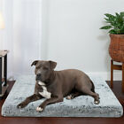 4XL Orthopedic Dog Bed Memory Foam Outdoor Mattress for Crate w/ Removable Cover