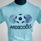 Mexico 86 Retro Football Soccer T Shirt FIFA World Cup 1986 Maradona Vintage