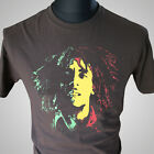 Bob Marley Retro Music Themed T Shirt Reggae Trojan Records Cult Classic
