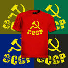 5 CCCP Vintage Russian T-Shirt soviet USSR kgb lot new