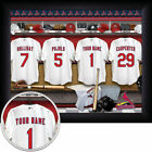 Personalized Framed Baseball Locker Room Print on Ebay