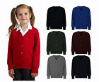School Uniform Button Knitted Cardigans 9 colours Red