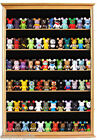 Shadow Box Display Case Cabinet for Vinylmation, Funko Pop, Nodder Collections