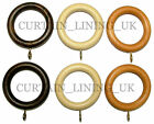 Wooden Curtain Pole Rings For 28mm Poles Buy Any Amount