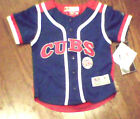 Chicago Cubs Youth Baseball Jersey 2T 3T 4T NWT  Blue/Red