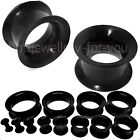 FLESH TUNNEL FLEXIBLE SILICONE EAR PLUG SOFT DOUBLE FLARED EXPANDER  4mm TO 30mmOther Body Jewellery - 110399