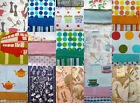 VARIOUS COTTON TEA TOWELS RED LONDON BUS DISNEY BLUE MICKEY PINK MINNIE MOUSE