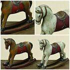 Traditional/Vintage Style Rocking Horse. White or Brown. Christmas or All Year.