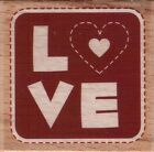 HAMPTON ARTS Assorted WOOD MOUNTED STAMPS Your Choice Size 2x2 HOLIDAYS