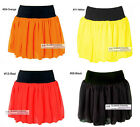 Mew Womens Ladies Cute Chiffon Skirt Bubble Hem Mini Skirt #GF0630