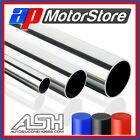 Stainless Steel Metal Pipe Straight Hose Tube Polished Exhaust - Select Size