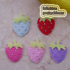 Mixed Strawberry Appliques Padded Craft Sewing Scrapbooking Trimming APQE