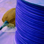 "3mm 1/8"" Blue Velvet Ribbons Craft Sewing Trimming Scrapbooking #175"