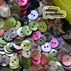 Mixed Round 11mm Mother Of Shell Buttons Sewing Scrapbooking Beads Craft