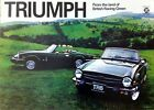 Triumph TR6 'The Single Man' Classic Showroom Car Picture Poster Print A1 A3+