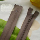 23cm Nylon Closed End Zips/Zippers Sewing Z17
