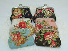 Coin Purse Wallet Ladies Purse Shabby Floral Ladies Wallet For Coins