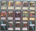 WARS TCG Incursion Rare Foil Cards (CCG)