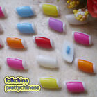 Assorted Tub Shape 16mm Plastic Buttons Sewing Scrapbooking Cardmaking ASTB08