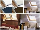 Blackout Roller Blind For Keylite roof skylight window, (White,Cream,Navy,Cocoa)
