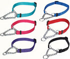 Martingale Dog Collar Nylon chain 6 colors allsizes choke training Guardian Gear