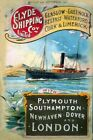 Vintage Old Transport Poster Clyde Shipping Coy Print Art Canvas A4 A3 A2 A1