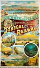 Vintage Old Transport Poster Donegal Railway Co Print Art Canvas A4 A3 A2 A1