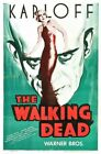 Vintage Old Movie Poster Walking Dead 1936 01 Print Art Canvas A4 A3 A2 A1