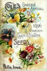 Coles 2 Vintage Seed Cover Picture Art Print Canvas Poster A4 A3 A2 A1
