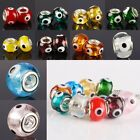 Wholesale Lampwork Glass Hansa Evil Eye Loose Beads Fit Charms Bracelet Jewelry