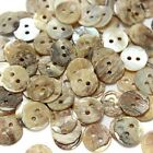 Round 7mm Mother Of Shell Buttons Sewing Scrapbooking Beads Craft RMOP07