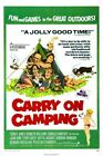 CARRY ON CAMPING B-MOVIE REPRODUCTION ART PRINT A4 A3 A2 A1