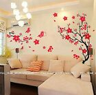 Blossom Flowers Tree Wall Stickers Mural art Decal Wallpaper Decor REUSABLE