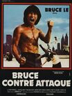 BRUCE LEE FIGHTS BACK B-MOVIE REPRODUCTION ART PRINT A4 A3 A2 A1